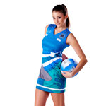 *Sublimated Sports Micromesh Netball Dress