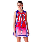 *Sublimated Lycra Netball Skirt