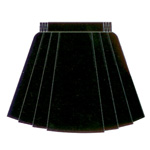 Microfibre Netball Skirt with 6 pleats