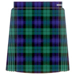 Tartan Single Pleat Netball Skirt