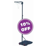 Freestanding height adjustable lightweight portable stand